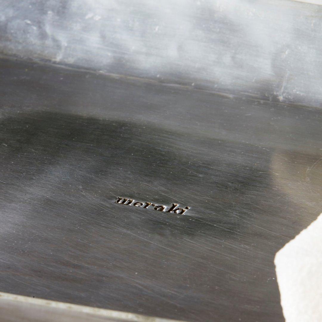 Tablett silber-finish von Meraki 3
