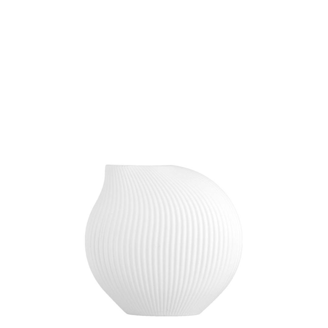 Lerbäck Keramikvase weiß 2