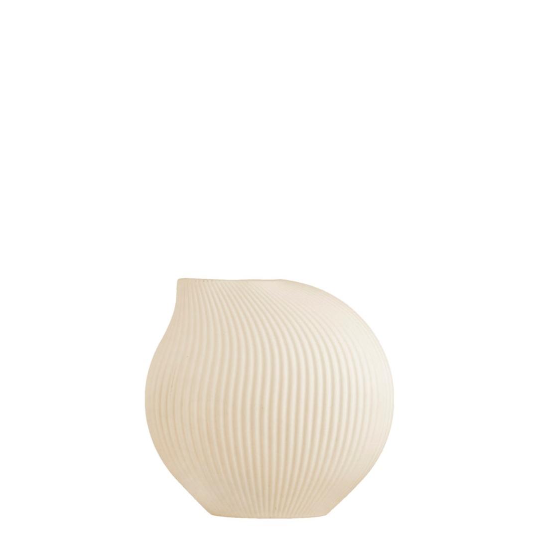 Lerbäck Keramikvase beige