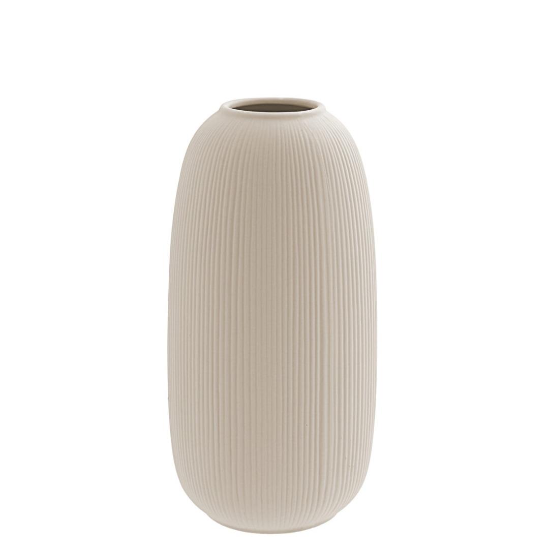 Aby Keramikvase beige