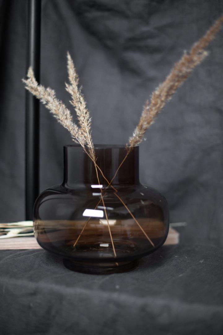 Aspliden Glasvase braun
