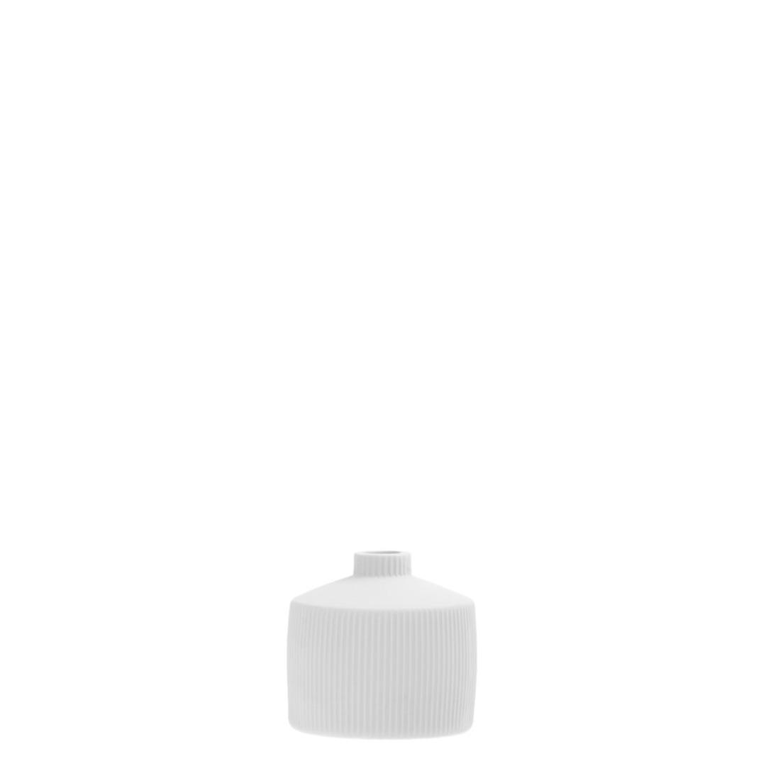 Berga Keramikvase weiß klein 2