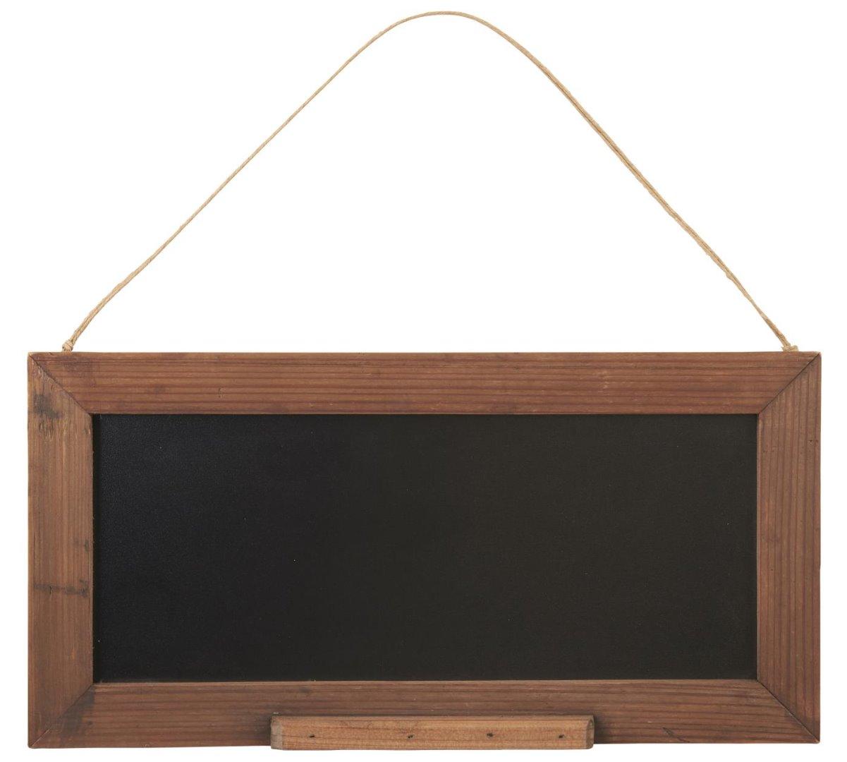 Tafel in Holzrahmen