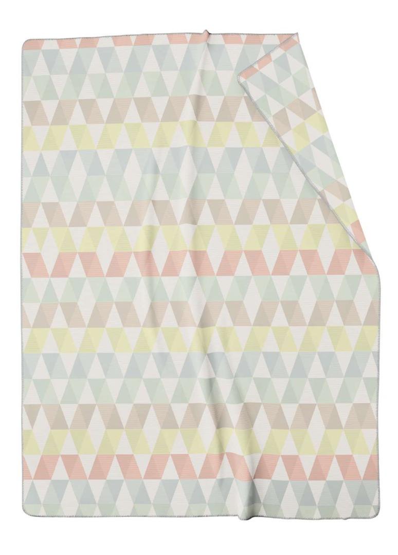 Wohn- und Kuscheldecke Zigzag 150x200cm
