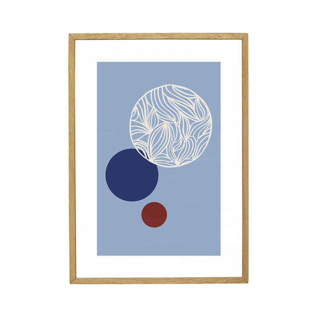 Rahmen, Eiche, natur, medium, m Foto - 1