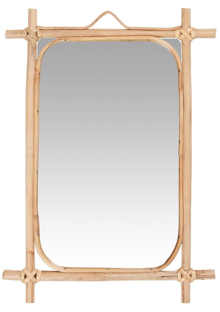 Spiegel zum Aufhängen / Bambus