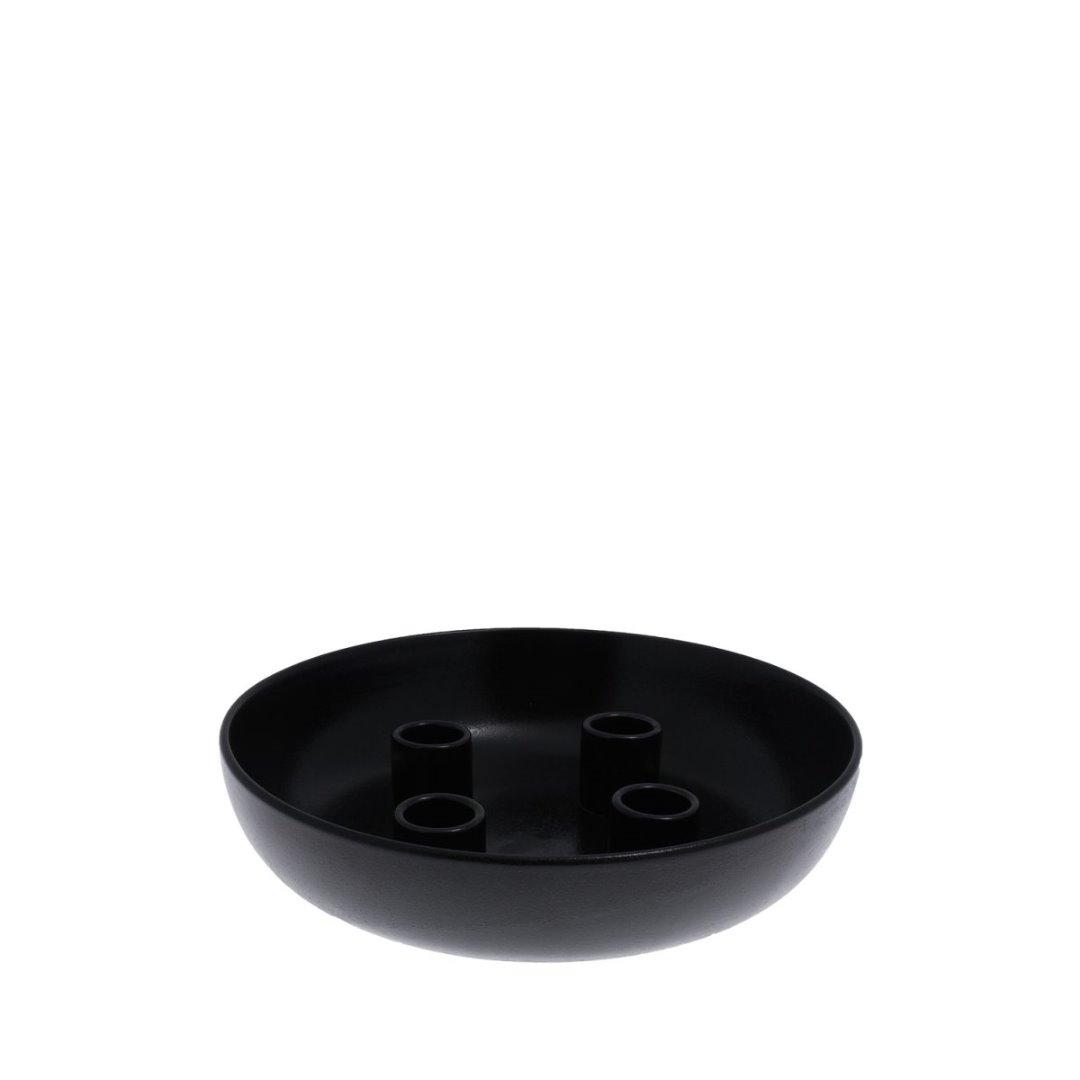 Granholmen Tischkerzenhalter glossy black 3