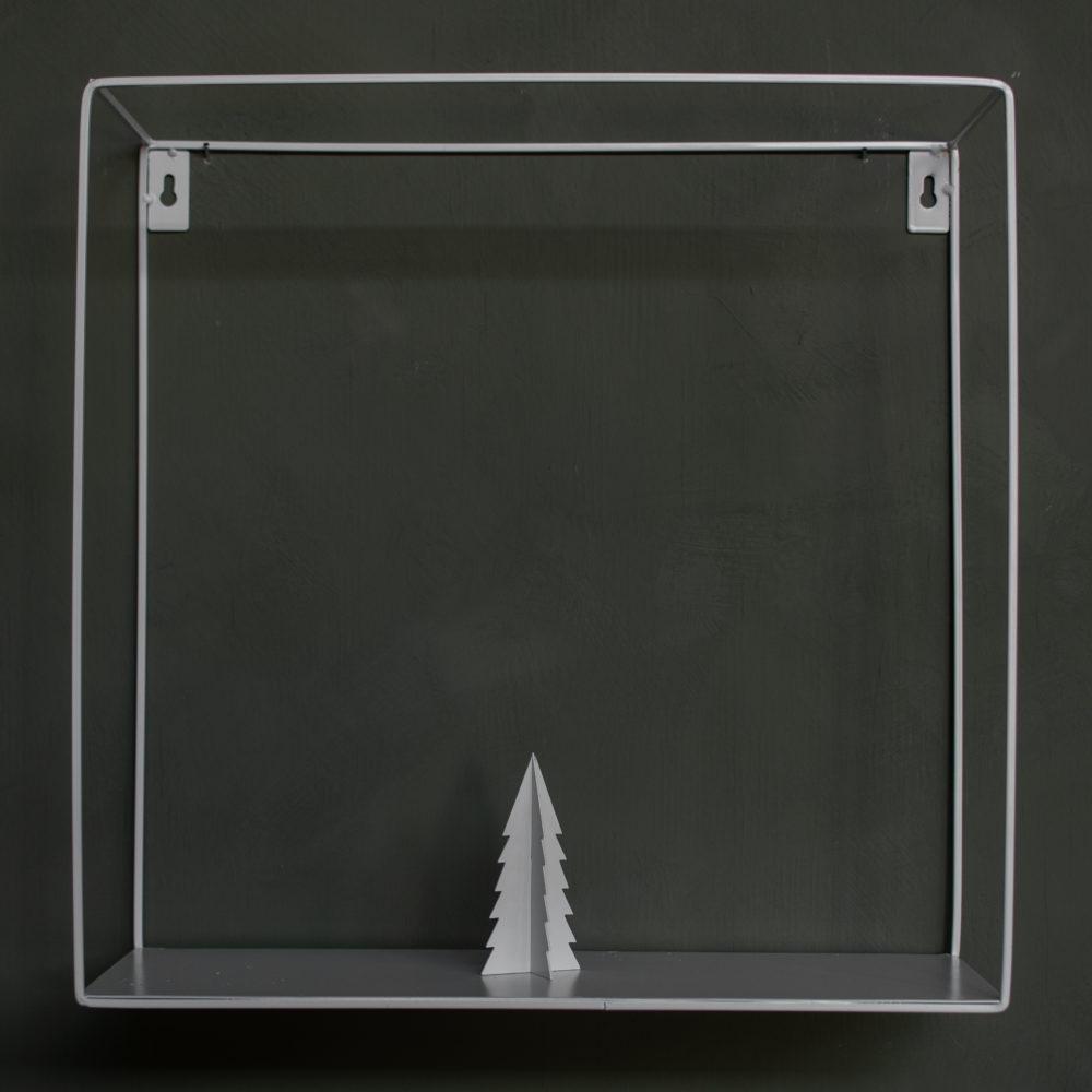 Gimdalen - Metallbäumchen klein / weiß