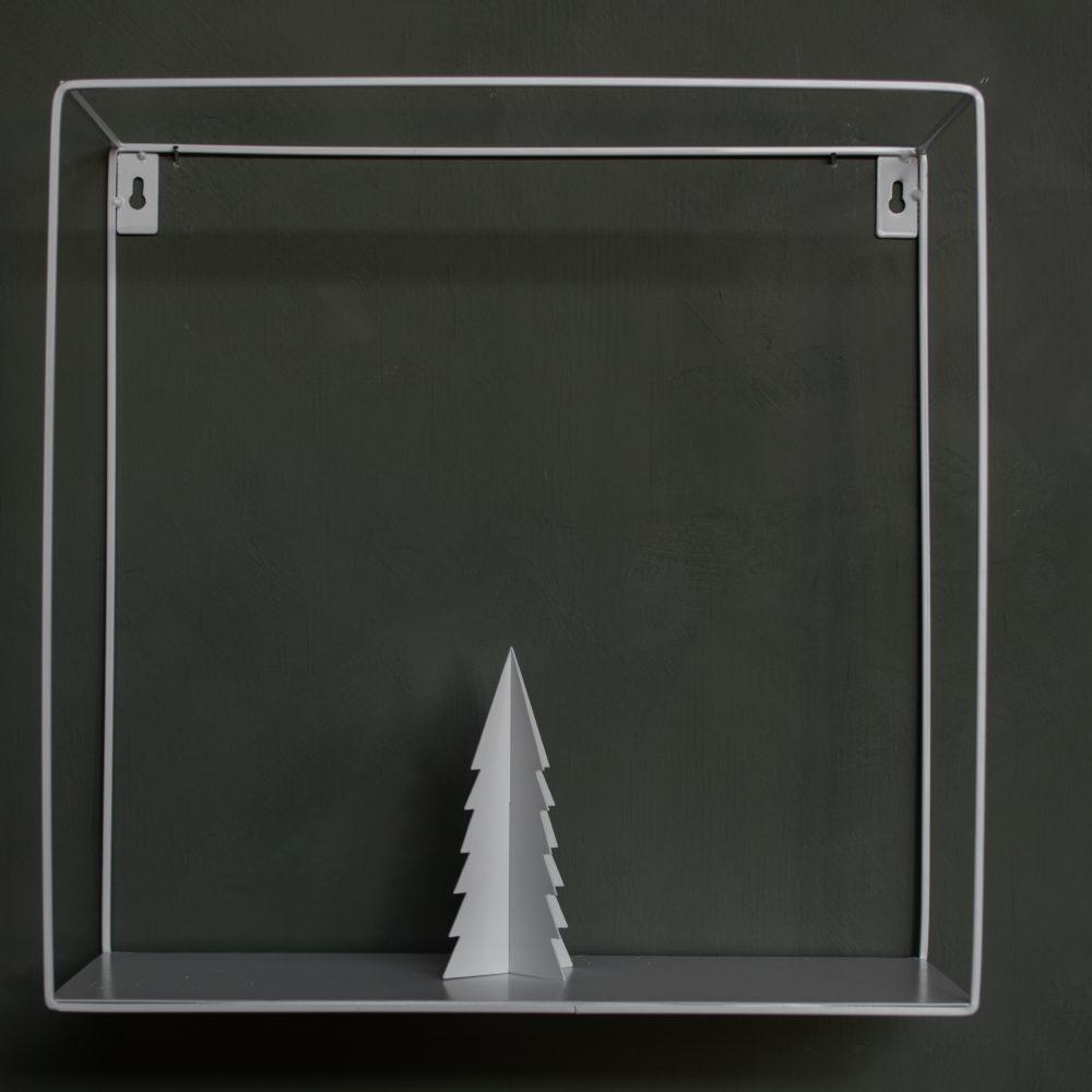 Gimdalen - Metallbäumchen mittel/ weiß