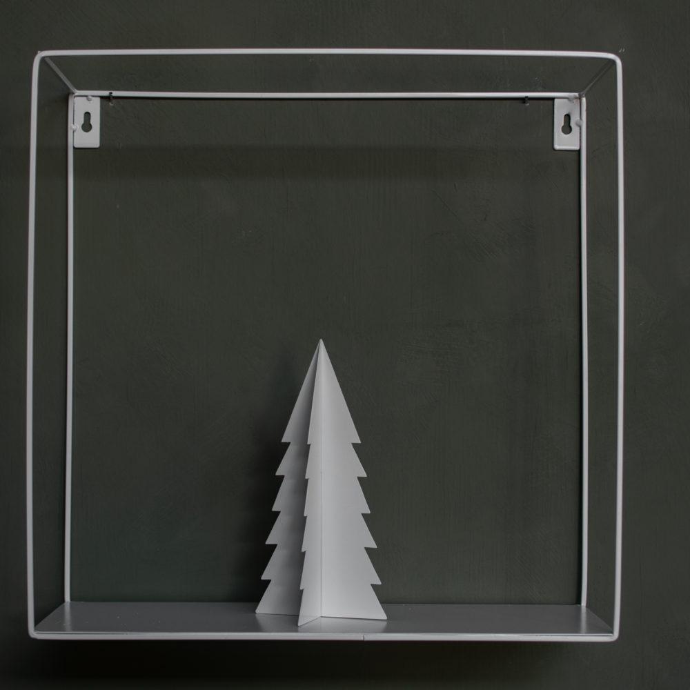 Gimdalen - Metallbäumchen groß / weiß