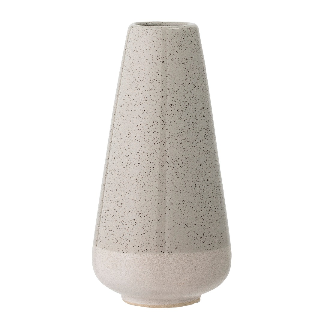 Vase grau/grün Steinzeug H 165cm