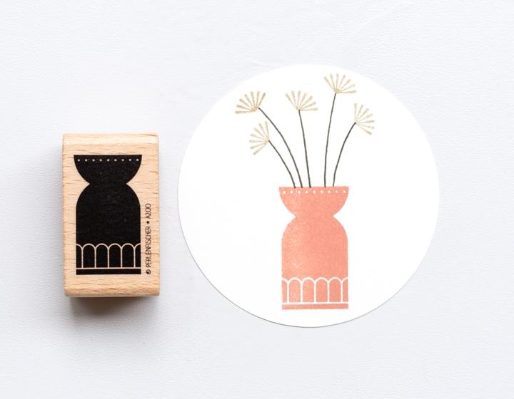 Stempel Vase 2