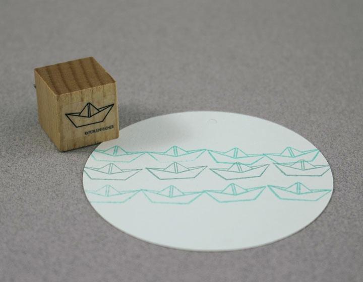 Stempel Papierschiff - 1
