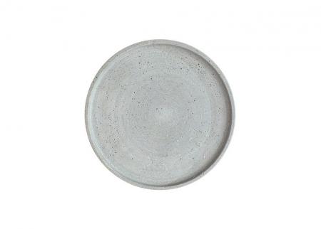 grauer Kerzenteller BENNY 30cm Durchmesser