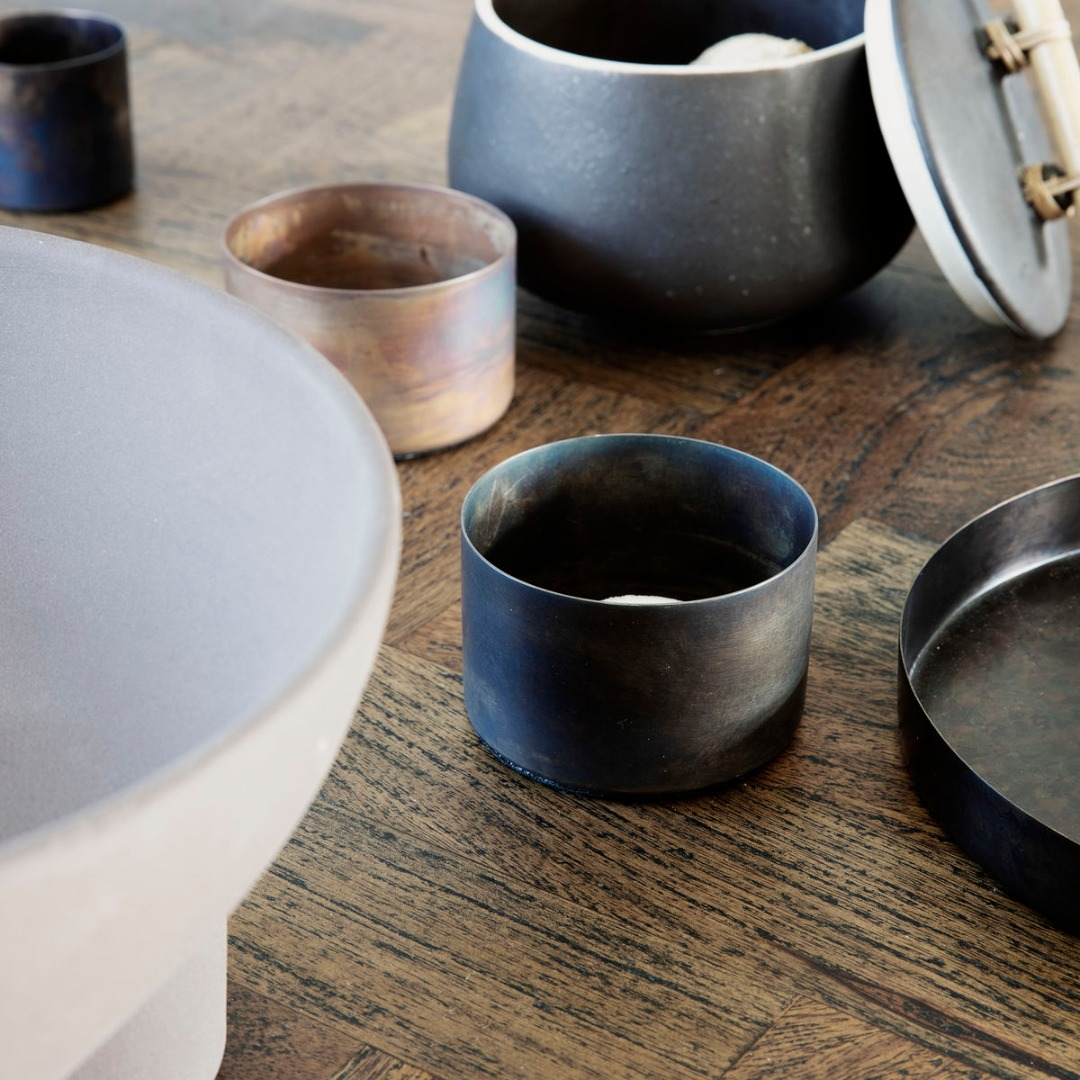 Teelicht Define Antikes braun 2