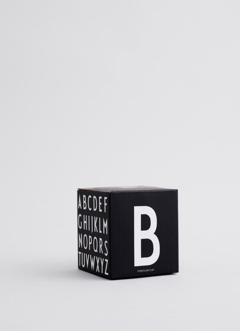 schwarzer Porzellanbecher Y 6
