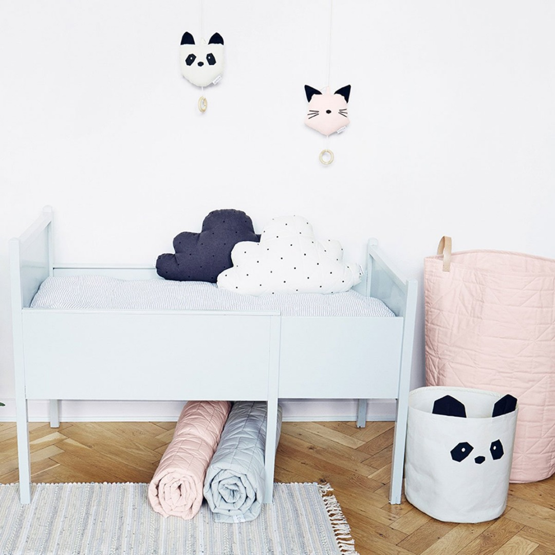 Stoff Korb Panda