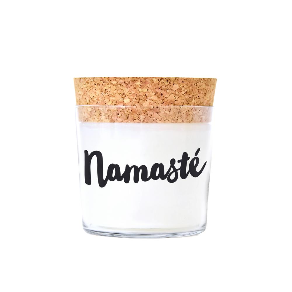 Duftkerze namaste - lavendel - 1