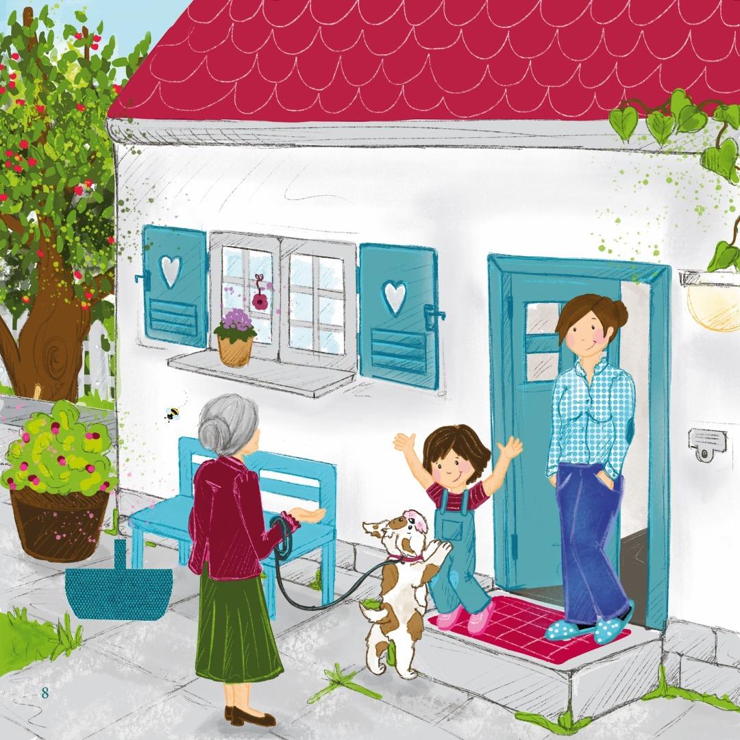 Kinderbuch Fritzi und Lulu Dem Müll