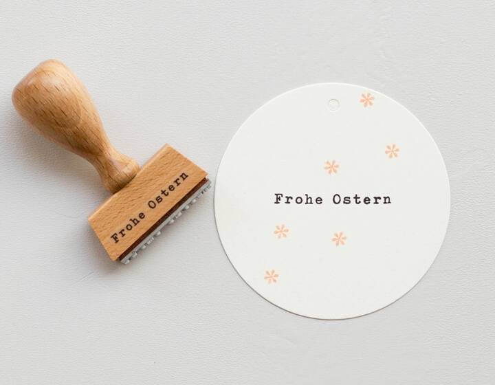 Stempel Frohe Ostern 2