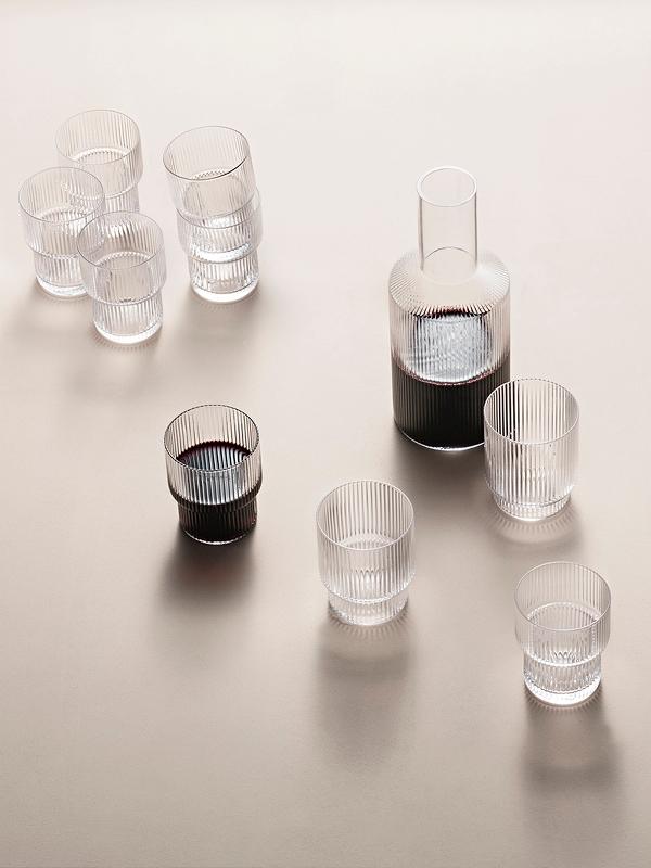 Ripple Glas 4er Pack - 4