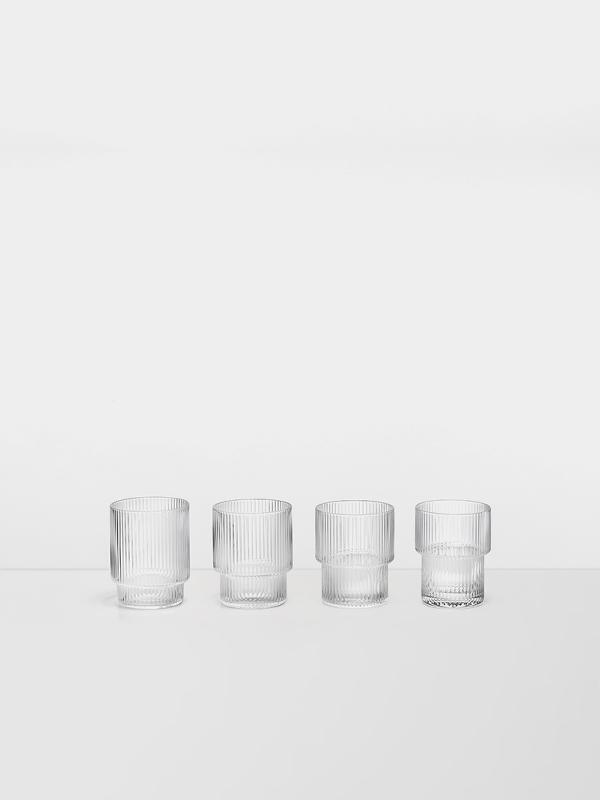 Ripple Glas 4er Pack