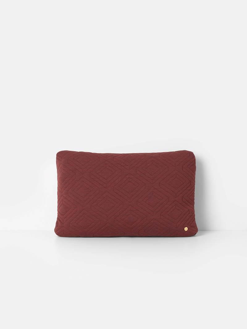 Kissen - Quilt Cushion - Rust