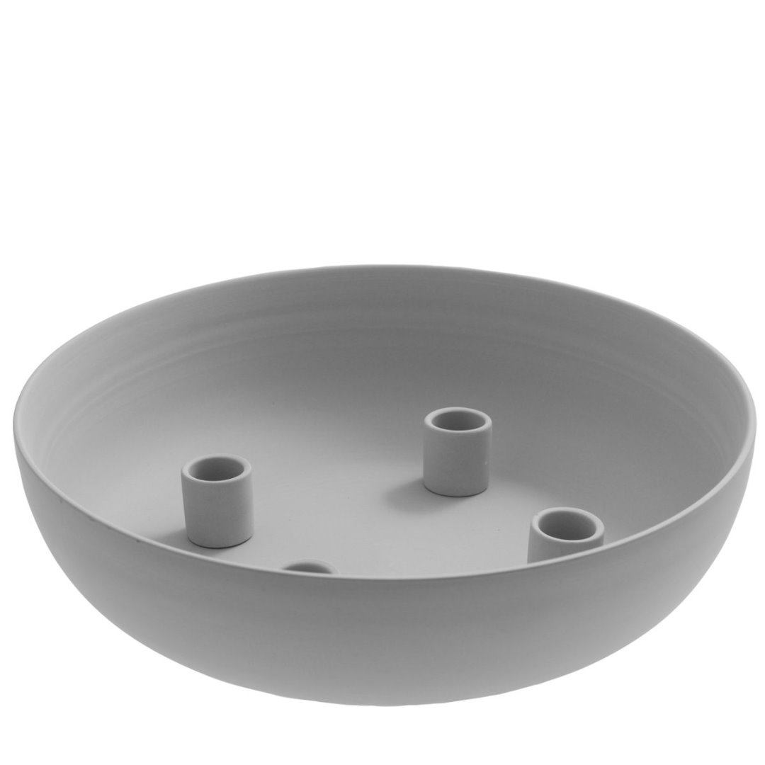 Granholmen XL Tischkerzenhalter grau 2
