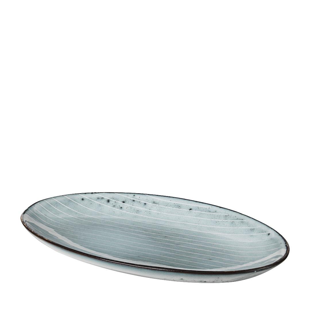Platte oval Nordic Sea