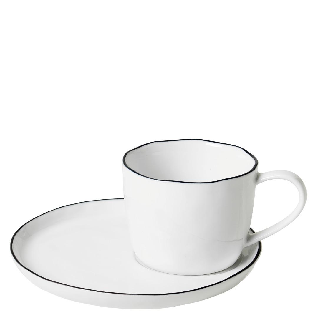 Tasse mit Untertasse Salt