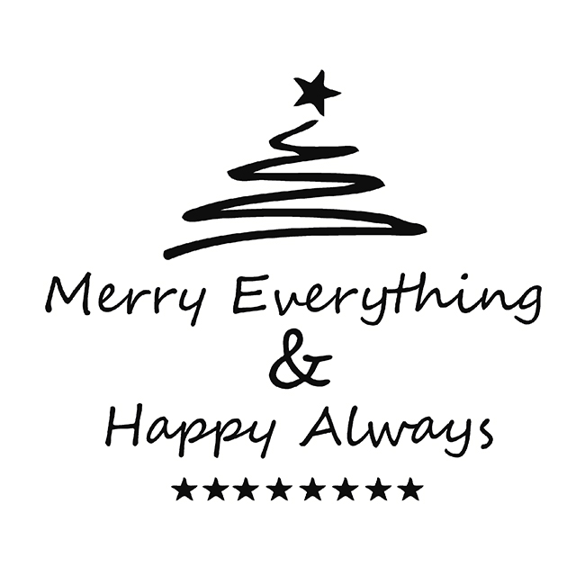 Serviette Merry Everything , 20 Stk. - 1