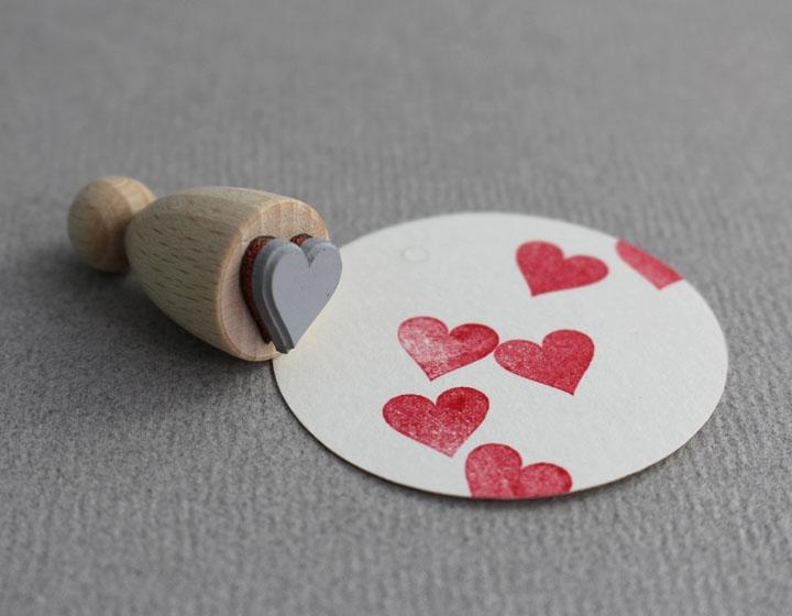 Stempel Herz