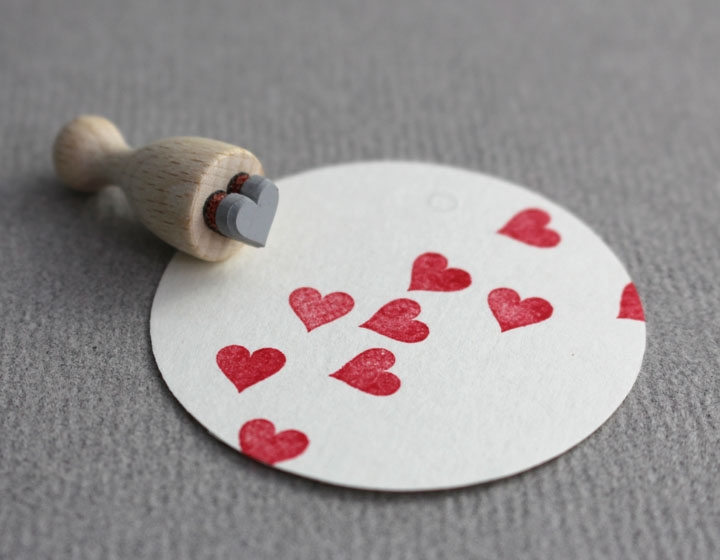 Stempel Herz mini