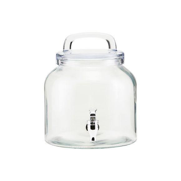 Ice Cold Getränkespender Glas 4L - 1