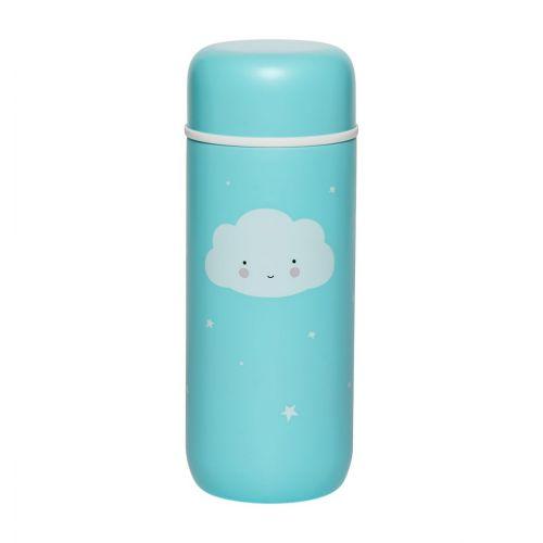 Doppelwandige Edelstahltrinkflasche: Wolke