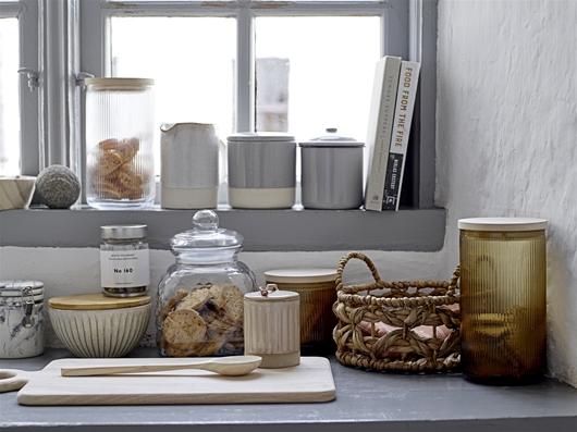 Glasdose mit Deckel klein
