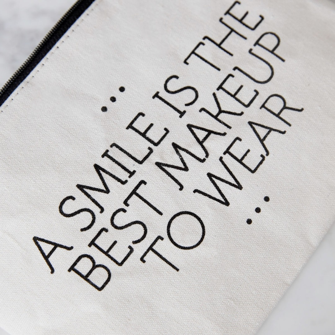 Make-up Tasche A smile... - 2