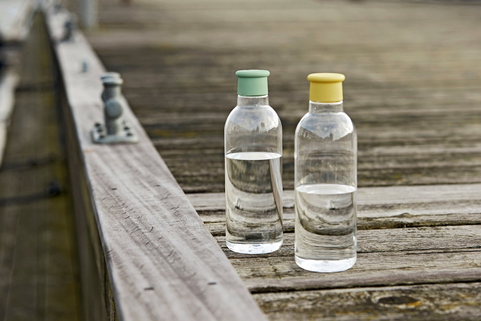 Drink it Wasserflasche / gelb 2