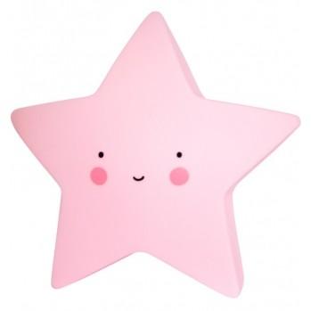 Sternlampe rosa