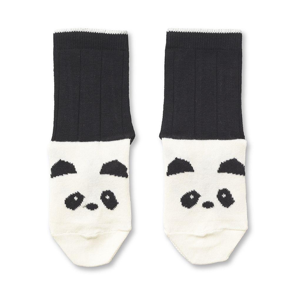 Baumwollsocken Panda