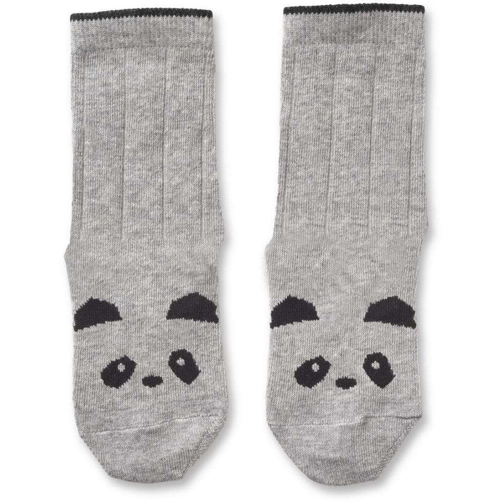Baumwollsocken Panda - 1