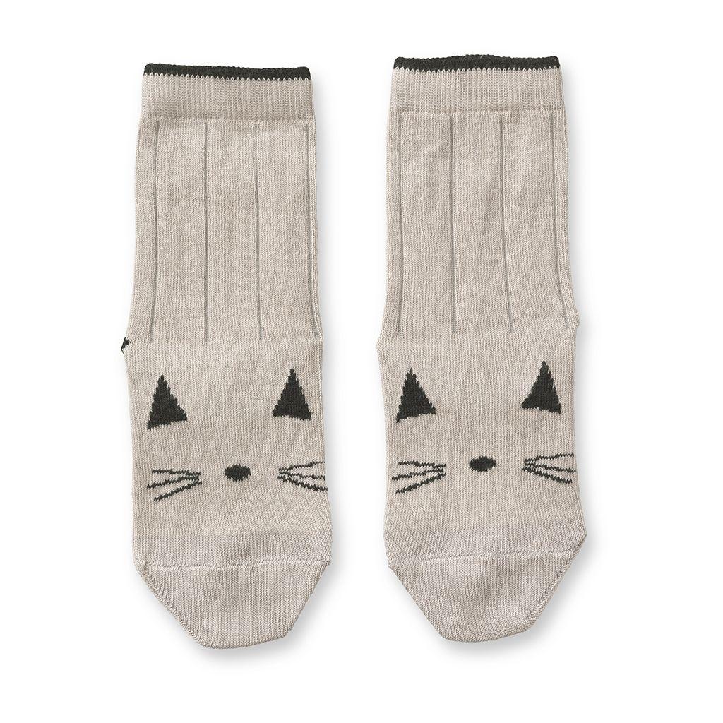 Baumwollsocken Katze