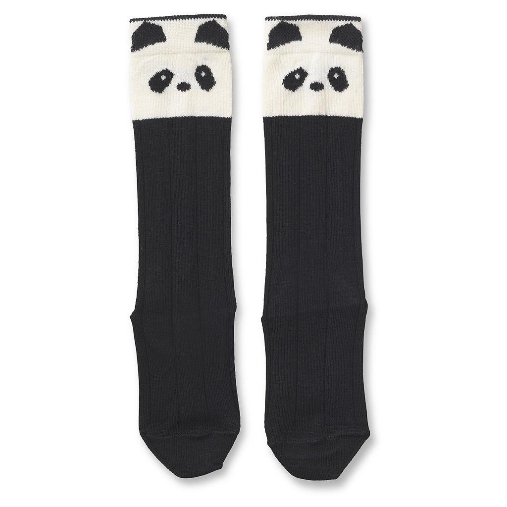 Kniestrümpfe Panda - 1