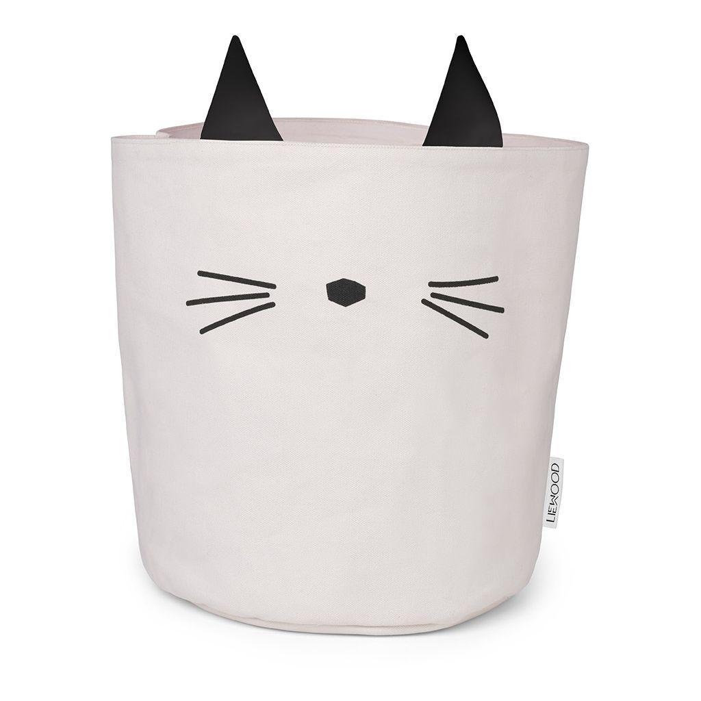 Stoff Korb Katze