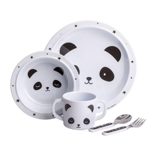 Geschirrset: Panda