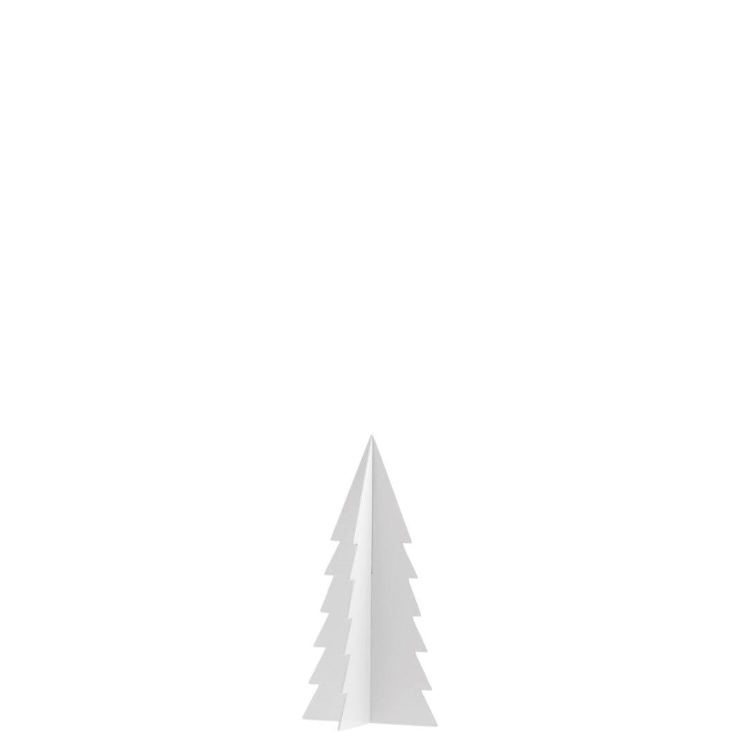 Gimdalen - Metallbäumchen mittel/ weiß 3