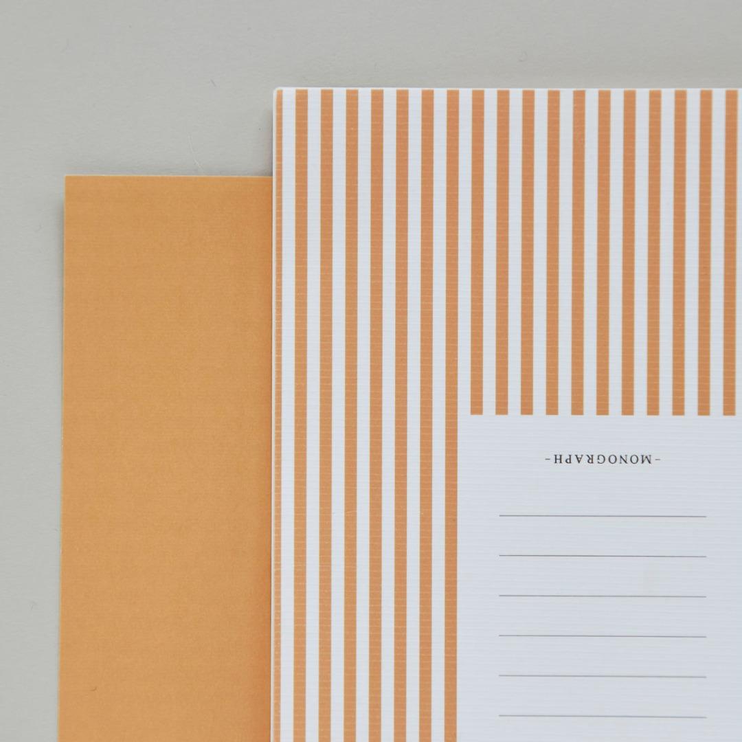 2er Set Notizbücher STRIPES 2