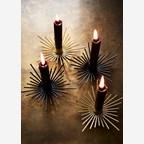 Kerzenhalter spike gold 2