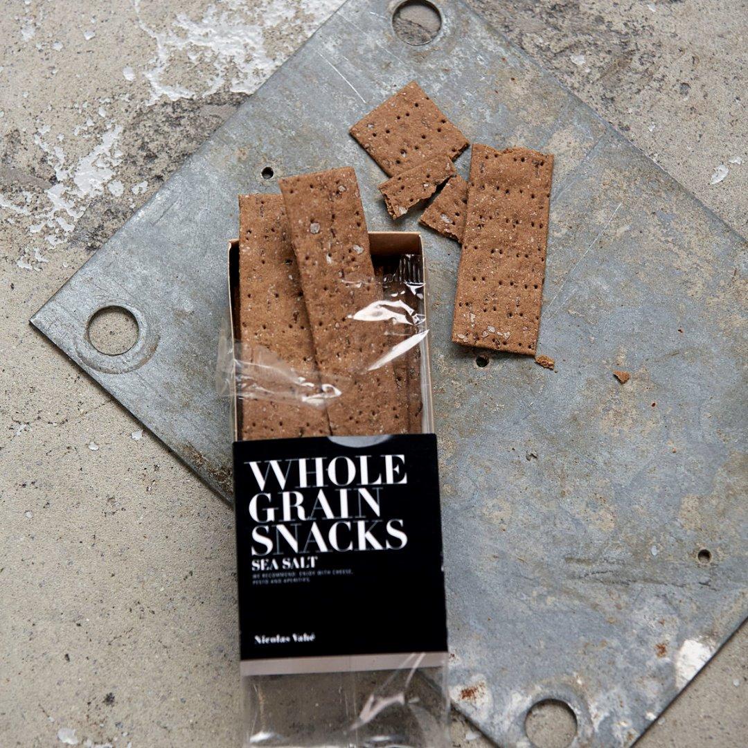 Vollkorn Cracker mit Meersalz 100 g