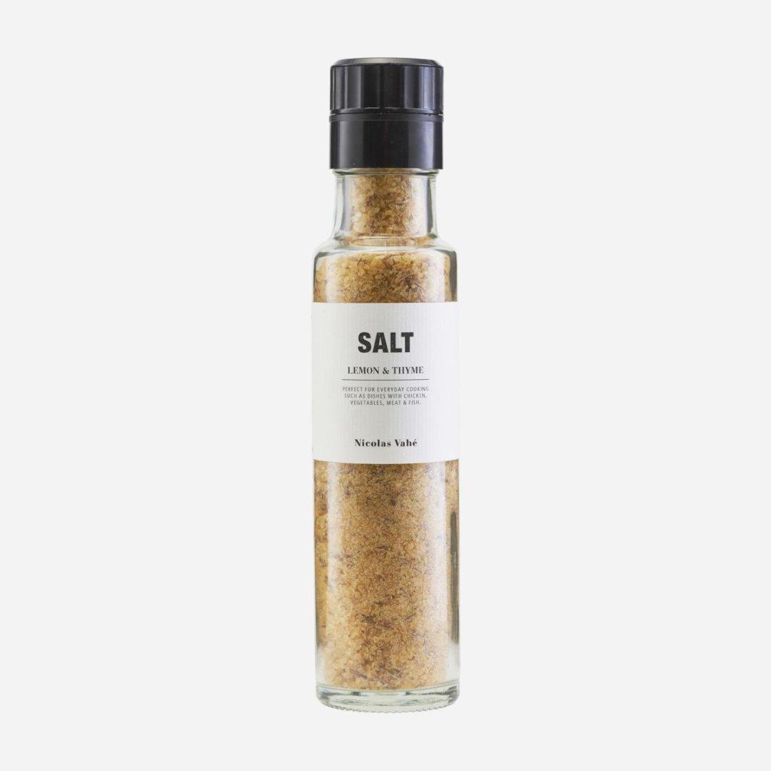 Salzmühle mit Zitrone und Thymian 320